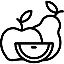 clipart black and white 512x512 fruits Acorn food squirrel nature Healthy Food Fruit icon