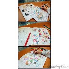 EXO Coloring Book A DAY IN EXOPLANET