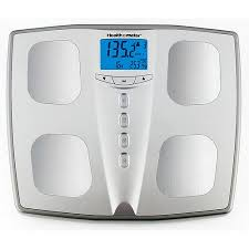 Bathroom Scales At Walmart Canada by Health O Meter Silver Body Fat Monitoring Bath Scale Walmart Com