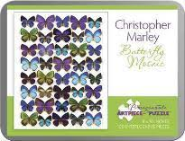 Butterfly Mosaic Christopher Marley 100 Piece Jigsaw Puzzle Aa798