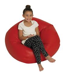 Children's Factory Premium Beanbag Chair, 35 In Dia, Vinyl, Red About Vinyl Bean Bag Chairs Home Design Inspiration And Wetlook Extra Large Pure Bead 301051118 Fniture Exciting Brown For Adults In Your Classy And Accsories Gold Medal 140 Blue Faux Leather Factory Magenta Beanbag Chair Cover Bags Futon City Vinyl Bean Bag Chairs Beanproducts Red Pixel Gamer Leatherdenim Jaxx 132 Round Shiny Multiple Colors