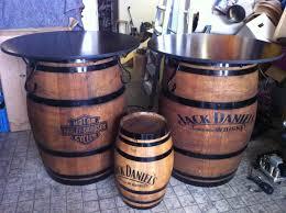 Harley Davidson Bathroom Themes by Jack Daniel U0027s And Harley Davidson Barrel Bar Tables Available At