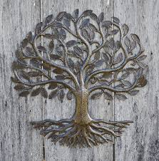 Bed Bath And Beyond Metal Wall Decor by Metal Wall Art Haiti Tree Of Life Recycled Steel Garden Art