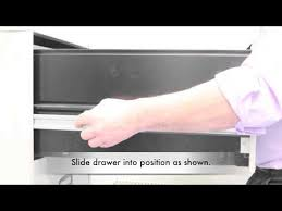 Hon Filing Cabinet Locking Mechanism by How To Remove A Filing Cabinet Drawer Youtube