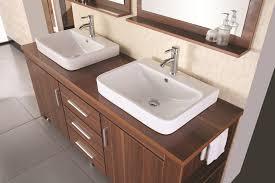 Wyndham Bathroom Vanities Canada by Design Element Washington Double Drop In Vessel Sink Vanity Set