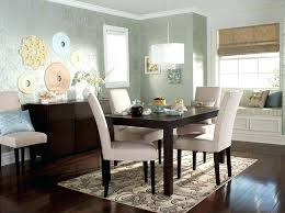 Bay Window Dining Room Table Stool Dark Brown Wooden Four Bar Sets
