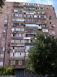 Rundown Apartment Blocks Like This Are An Unfortunate Remnant Of Armenias Time In The Soviet Union As I Approached Building Had A Feeling Was