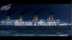 titanic journey become a tragedy inside the titanic trailer april