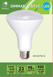 br30 bright led light bulbs by bioluz led instant on warm white
