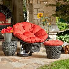 Red Patio Furniture Decor by Decor Charming Double Papasan Cushion With Outdoor Double Papasan
