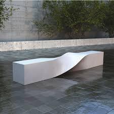 Faux Bois Outdoor Concrete Dining Table Mecox Gardens