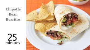 Chipotle Halloween Deal 2014 by Chipotle Bean Burritos Recipe Myrecipes