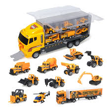 100 Big Truck Toys Style 2 Childrens Transport Toy Model 12 Alloy