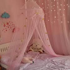 betthimmel baldachin für kinder baby moskitonetz prinzessin mädchen betthimmel schlafzimmer dekoration fantasie schmetterlings prinzessin wind