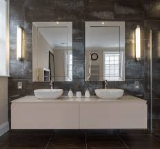 Collect This Idea Double Mirror Granite Bathroom