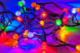 Christmas Tree Lights Amazon by String Of Christmas Tree Lights Wallpaper