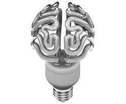bright idea solovyovdesign s brain shaped cfl light bulb