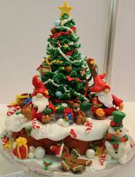 Heres A Giant Honking Christmas Tree Cake Description From Homeeyesonff I Searched For This On Bing Images