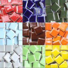 ceramic craft glass mosaic tiles ebay