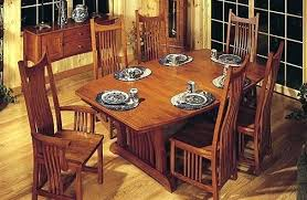 Mission Dining Room Set 6 Style Table Furniture Awesome Design