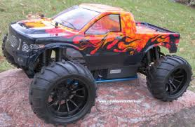 100 Gas Rc Monster Trucks RC Nitro Truck HSP 110 Scale 4WD 24G RTR 88067