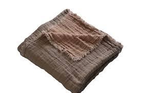 jeté de canapé grande taille plaid en lavé gaufré my way