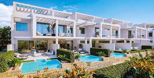 100 Modern Townhouses Price Favourable New Townhouses With Sea Views For Sale In Manilva Costa Del Sol
