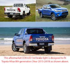 Tailgate LED Third Brake Light Rear 3rd Lamp Toyota Hilux 2015 ... 2013 Toyota Hilux Used Car 15490 Charters Of Reading Used Car Nicaragua 2007 4x2 Pickup Truck Review 2012 And Pictures Auto Jual Toyota Hilux Pickup Truck Rtr Red Thunder Tiger Di Lapak 2010 Junk Mail 2018 Getting Luxurious Version For Sale 1991 4x4 Diesel Right Hand Drive Toyotas Allnew Truck Is Ready To Take On The Most Grueling Hilux Surf Monster Truckoffroaderexpedition In Comes Ussort Of Trend My Perfect 3dtuning Probably Best