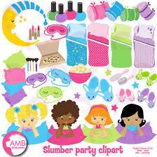 Pin Teddy Clipart Kid Slumber Party 4