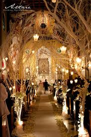 Gorgeous Indoor Wedding Ceremony Ideas With Lanterns