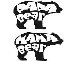 Black Bear Clipart Mama 13