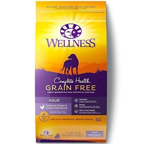 Wellness Complete Health Natural Grain Dry Dog Food Chicken Recipe - 24lbs