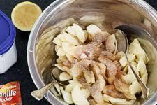 einfacher streuselboden kuchen mit apfel