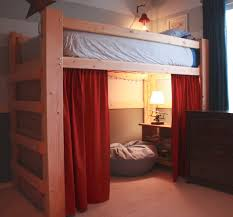simple classic loft bed design ideas fro wooden bed furniture