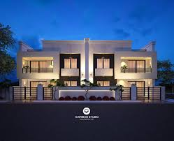 100 House Design Project MODERN TWIN HOUSE On Wacom Gallery