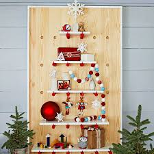 Shelves In The Shape Of A Christmas Tree