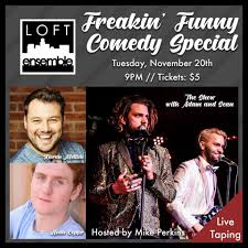 100 Loft Ensemble Get Ready For A MASSIVE Fall Comedy Show