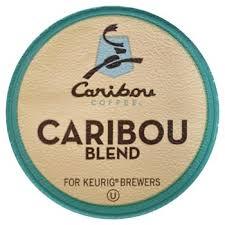 Caribou Coffee Blend Keurig One Cup 24 Pack