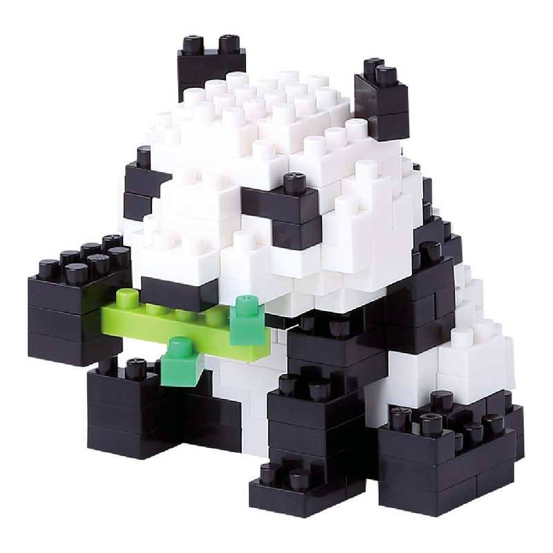 Giant Panda Nanoblock Micro-Sized Building Block Construction Toy Micro Brick