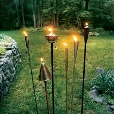 Citronella Oil Lamps Diy by Outdoor Oil Torches Foter