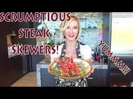 Scrumptious Steak Skewers