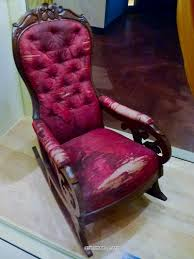 Lincoln Chair – DETROITfUNK Rocking Chair In Lincoln Lincolnshire Gumtree Tells A Story Beyond The Assination Abraham From Fords Theatre Before Cherry Rocker Classic Rock Antiques Lincoln Rocker Arthipstory Showing Photos Of Upcycled Chairs View 1 20 Antique 1890 Victorian Wood Cane Back All Re A 196070s Rocking Designed By Torbjrn President Was Assinated This Today Lincolns Placed Open Plaza Antiquer Reupholstery On Wheels 1880 German Bible My First