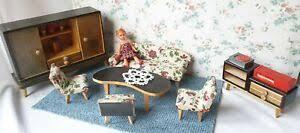 50er jahre möbel wohnzimmer puppenstube crailsheimer