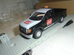 100 Menards Truck O Scale Flatcar With Milwaukee Road F150 Maintenance