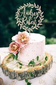 Rustic Wedding Cake Topper Best Toppers Ideas On Plain Cakes And Love Nz