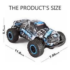 RC Car Off Road Truck Electric High Speed Vehicle With 2.4GHz 4CH 1 ... Rc Car 4wd Racing 118 Scale Remote Control Trucks Offroad Electric High Speed Cars 120 Scale Rc Forklift Truck Electric Bulldozer Remote Us Rolytoy 112 48kmh All Hot New 40kmh 24ghz Supersonic Wild Challenger Adventures Vintage Kyosho Usa 1 110th Monster Off Road Truck Vehicle With 4ch Traxxas Wikipedia Best Choice Products 24ghz Brand 2 Types 24ghz Amazoncom Coolmade Conqueror Rock Crawler