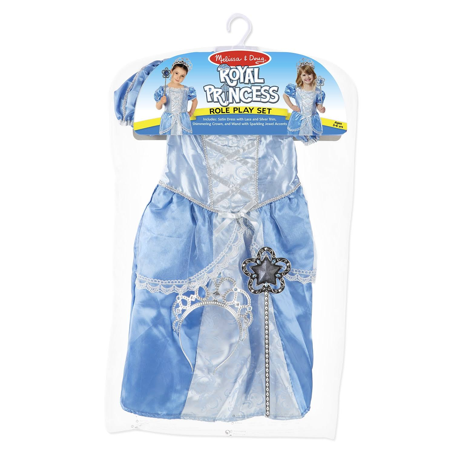 Melissa & Doug Royal Princess Role Play Costume Set