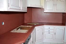 beton ciré cuisine crédence et plan de travail de cuisine en béton ciré ramella sarl