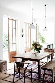 60 Rustic Farmhouse Dining Room Furniture And Decor Ideas