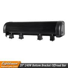 DHL 2pcs/lot Free Shipping 20Inch LED Light Bar 240w Truck Roof Off ... White Truck With Led Light Bars Better Automotive Lighting Blog Kc Hilites Gravity Pro6 Modular Expandable And Adjustable 24inch 120w 12v Light Bar Spot Work Lights 4wd Ute Offroad 7 Osram Led Bar 60w Inch Truck Suv Jeep Atv Off Led Lights Light Bar Strips 120w Spot Flood Beam Combo Proline Hid Crawldesert Kit Pro608500 Cars Kohree 72w Road Work Fog Flood Spot 1pcs 6 Inch 18w Lamp For Driving Trailer New 50inch 288w Cree Offroad Bolaxin Waterproof 60 Red White Tailgate Strip 22 144w 48x3w Combo